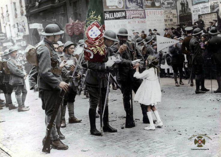Fotos colorizadas trazem Primeira Guerra à vida 37