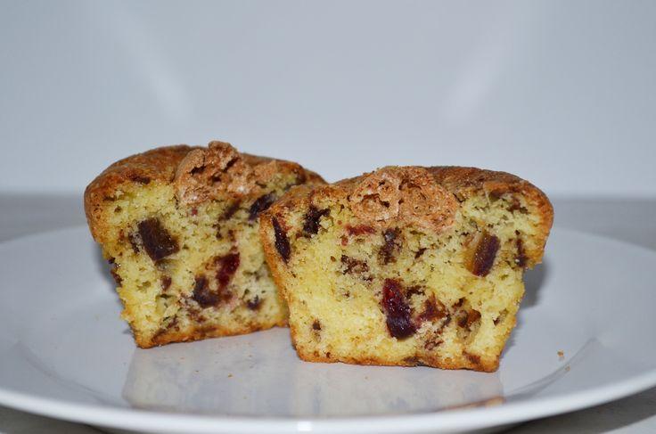 Sanny's Cranberry-Chocolate-Amaretto-Muffins