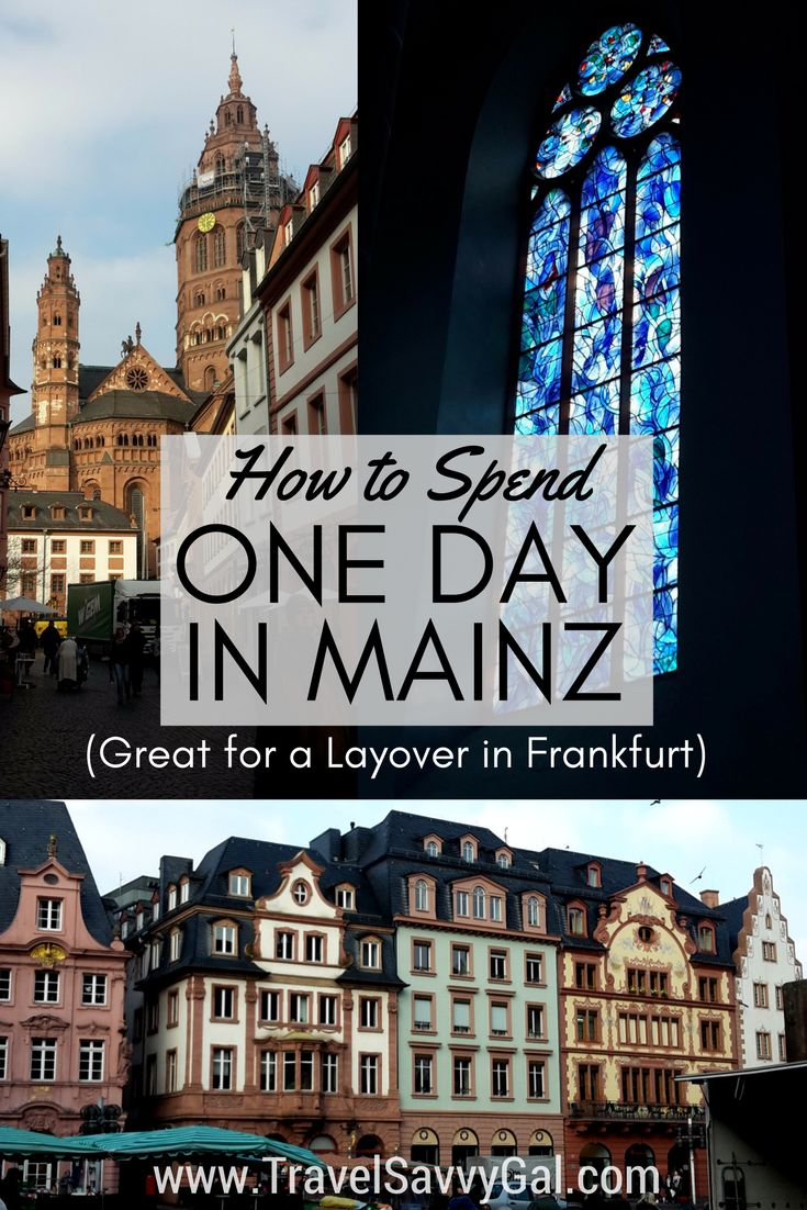 Mainz, Germany is on the Frankfurt metro system, so is a great day trip if you're visiting or even have a layover at this major airport hub.  I spent one day visiting, and tell you what to do and visit in your 24 hours – click to find out all of the once-in-a-lifetime beauty, art, and craftsmanship that will take your breath away!
