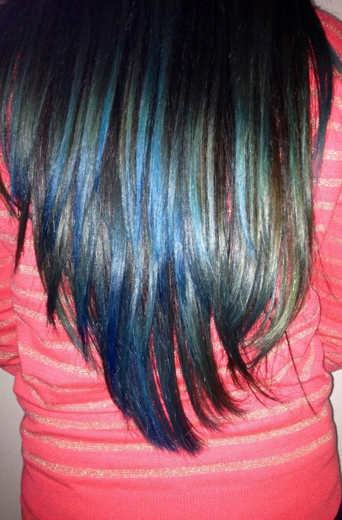 Recent hair colour...