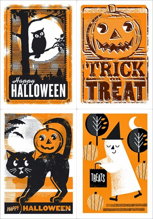My Owl Barn: L2 Design Collective: Halloween Cards