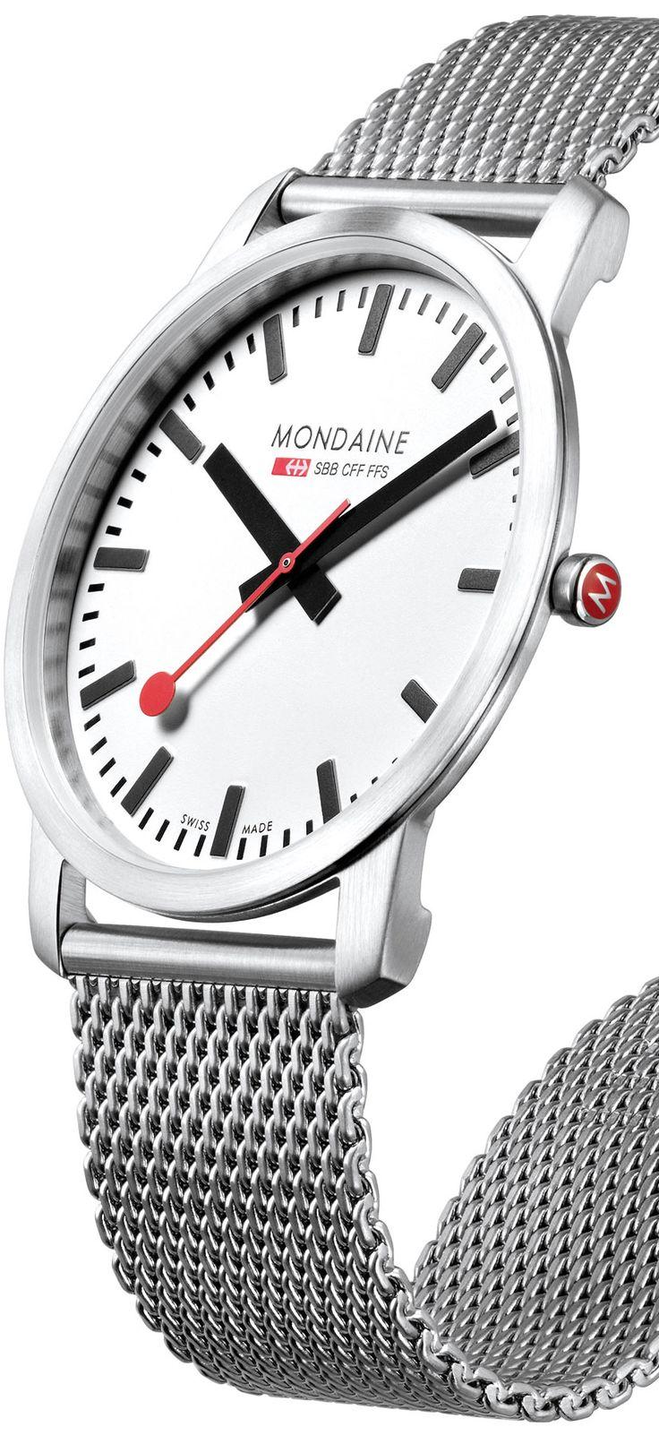 Mondaine Simply Elegant A672.30350.16SBM watch - Modern Watches from Watchismo.com