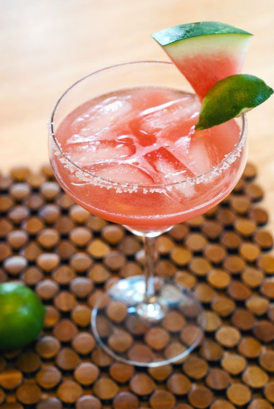 Watermelon Margaritas | So...Lets Hang Out