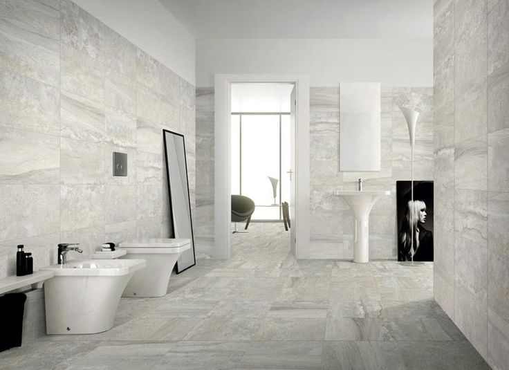 Stone Blend Silver 425x850mm. Glazed porcelain stoneware.