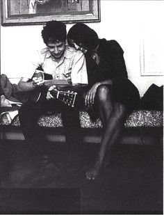 Bob Dylan and Joan Baez