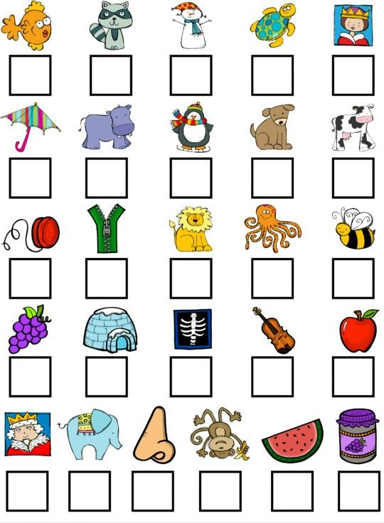 25+ best ideas about Beginning sounds on Pinterest | Beginning ...