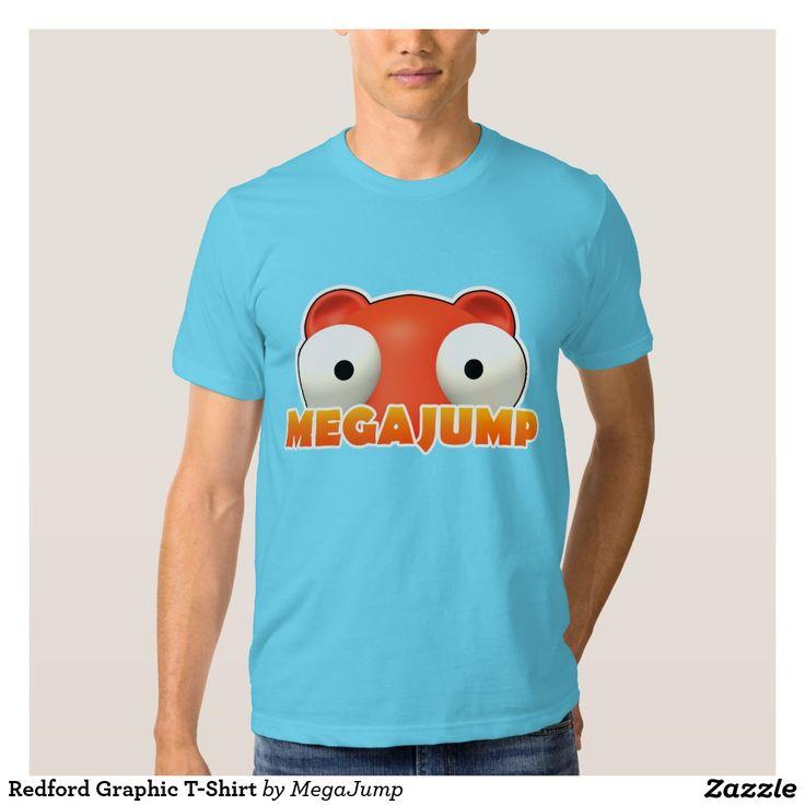 Redford Graphic T-Shirt. Regalos, Gifts. #camiseta #tshirt
