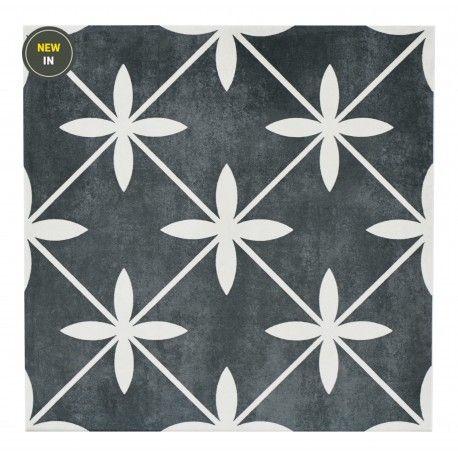 Wicker Charcoal Tile 33 x 33cm