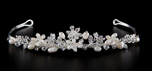 Perlen Diadem Hochzeit