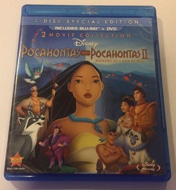 Pocahontas 2-Movie Collection (Blu-ray/DVD 2012 3-Disc Set)