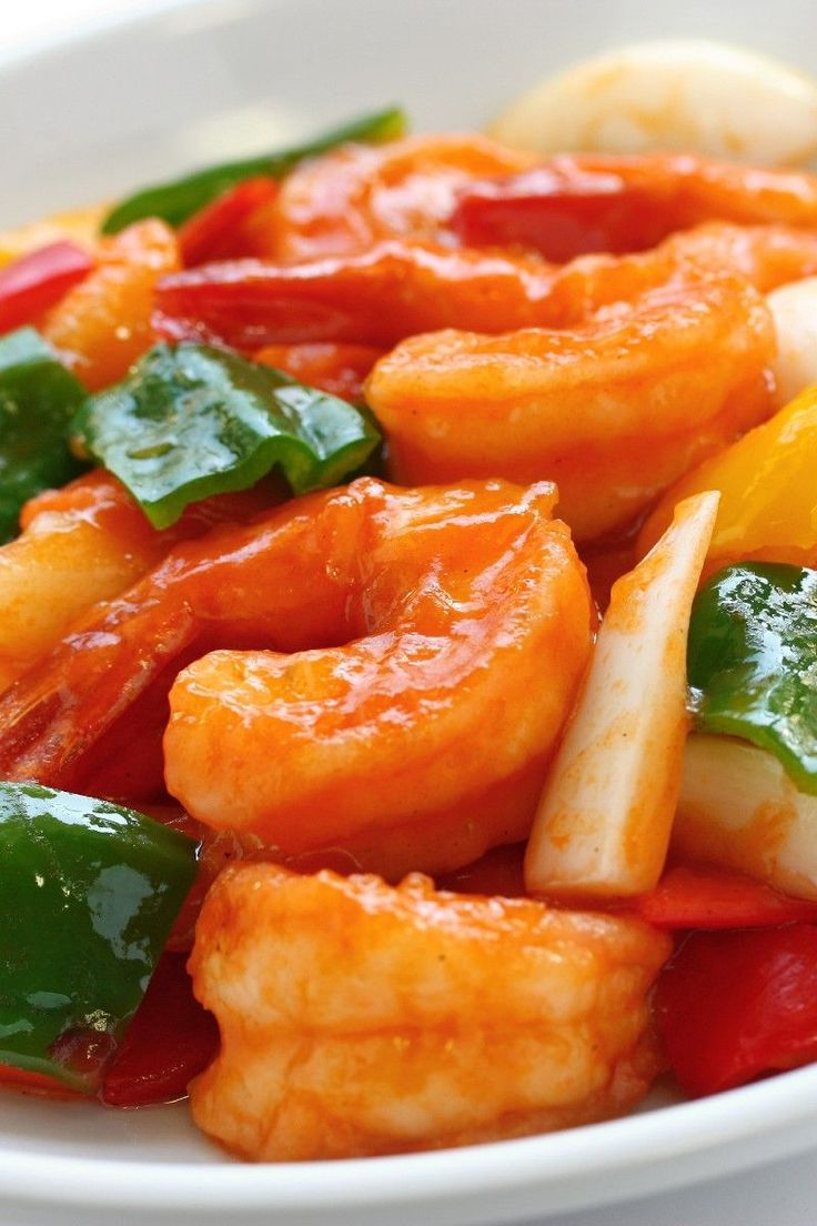 Hunan Shrimp – Weight Watchers (7 Points)