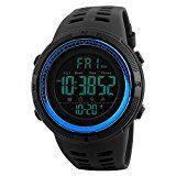 Amazon Angebot Skmei Herren 's Digital Uhren Japanisches Quarz-Uhrwerk 50m Wasserdicht Rubber Strap Kleid Armbanduhr Sport…%#Quickberater%
