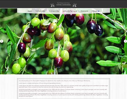 """Check out new work on my @Behance portfolio: """"Wordpress Responsive Site For Local Olive Press"""" http://on.be.net/1MJJI64"""