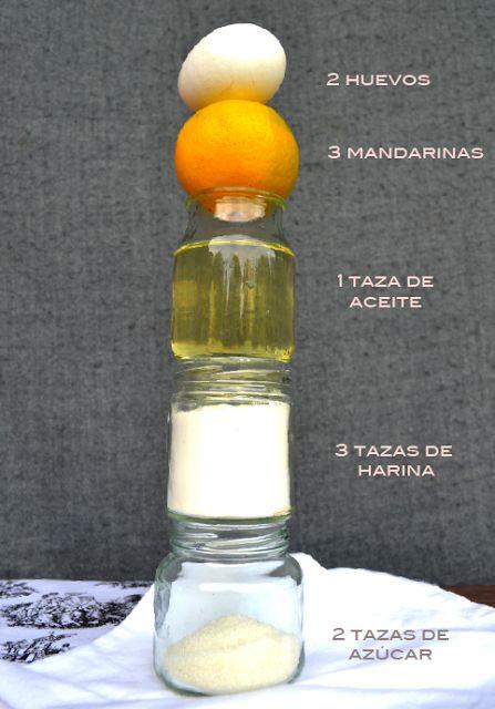 TORTA DE MANDARINA     Té para tres (con torta de mandarina): Sólo para Mí