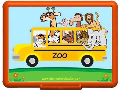 Rozprávka o tom, ako nás zvieratká zo ZOO navštívili. - YouTube
