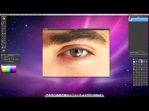 Pixelmator Tutorial - Eye Color