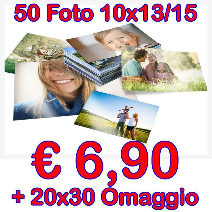 50 Stampe Digitali 10x15 € 6,90 + 20x30 Omaggio - Vorreste far stampare i vostri viaggi e i ricordi più belli potendo anche risparmiare? Ecco l'offerta giusta per voi. Portandoci in sede un ordine di 50 o multipli di 50 Avrete per ogni pacchetto un ingrandimento 20×30 OMAGGIO 50 Stampe Digitali 12×18 € 7,90 + 20×30 Omaggio 50 Stam... - http://www.ilcirotano.it/annunci/ads/50-stampe-digitali-10x15-e-690-20x30-omaggio/