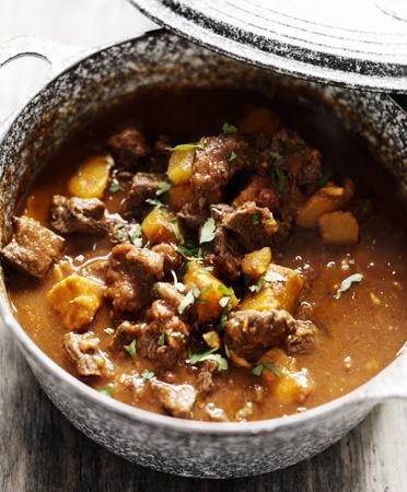 Marrokaanse stoof met pompoen & couscous