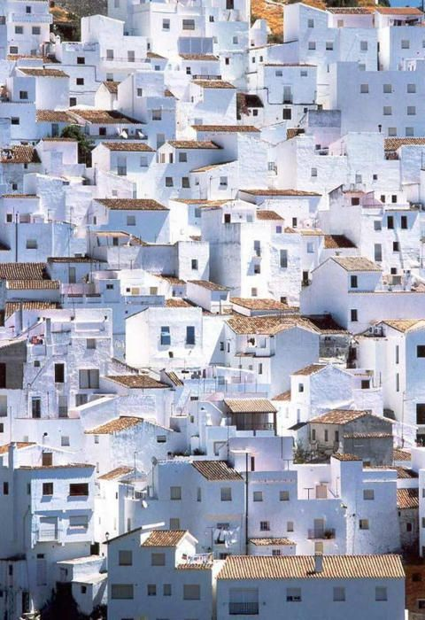 Spain: There are some of the most amazing tiny white towns in Spain. Pure serendipity!