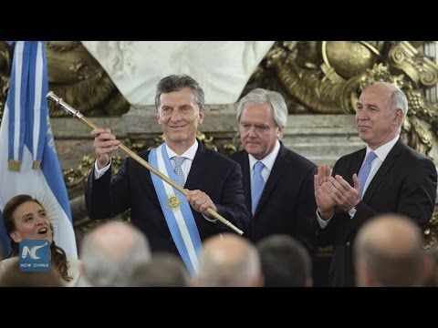 """Top News: """"ARGENTINA: Mauricio Macri Takes Charge As President"""" - http://www.politicoscope.com/wp-content/uploads/2015/12/Argentina-Headline-News-Now-Mauricio-Macri.jpg - Mauricio Macri promised to battle corruption and restore the judiciary's independence.  on Politicoscope - http://www.politicoscope.com/argentina-mauricio-macri-takes-charge-as-president/."""