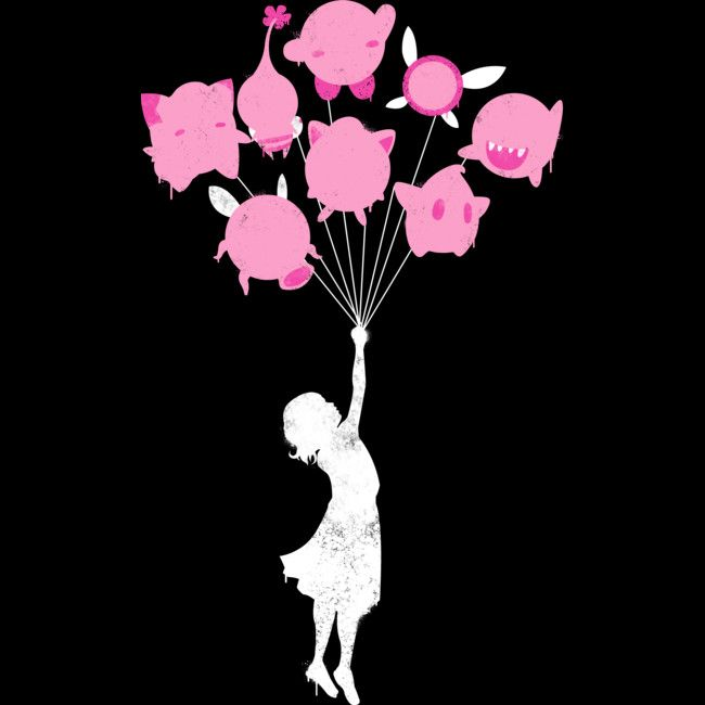 Floating Pink Puffs is a Tank Top designed by PrimePremne to illustrate your life and is available at Design By Humans