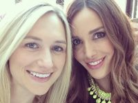 Bec Judd at Crown Mothers Day Lunch in her Lady Fox Counting Stars necklace