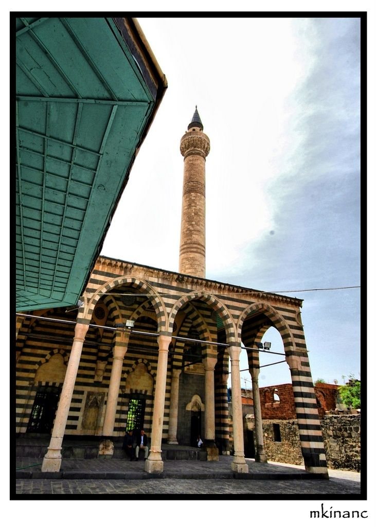 Behram Paşa Cami diyarbakır