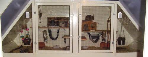 DIY cage for Chinchillas