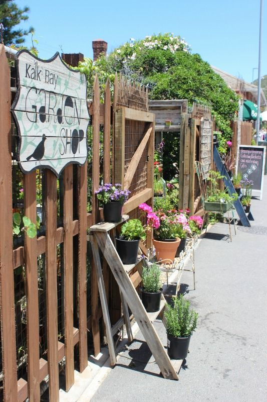 Kalk Bay Garden Shop The charming coastal villages of Cape Town via The World on my Necklace