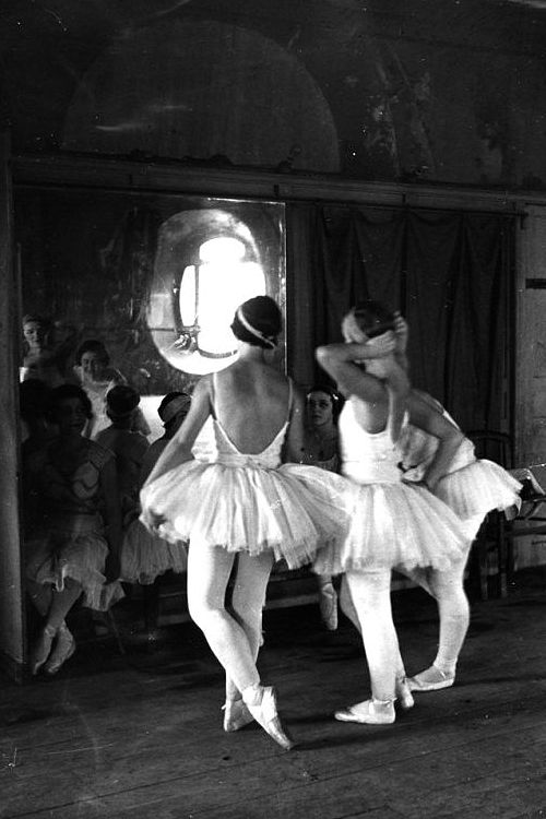 Scene at the School of American Ballet, New York, 1936