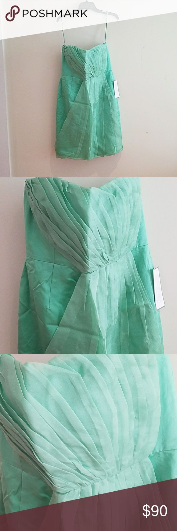 J.Crew special occasions Beautiful mint light green. Color code is LBL strapless with built in J. Crew Dresses