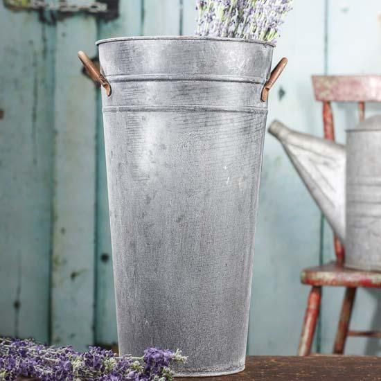 Ribbed Galvanized French Bucket Great Tips Amp Ideas