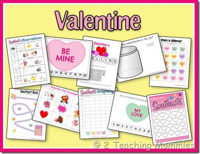 343 best Valentine Preschool Theme images on Pinterest  Kids