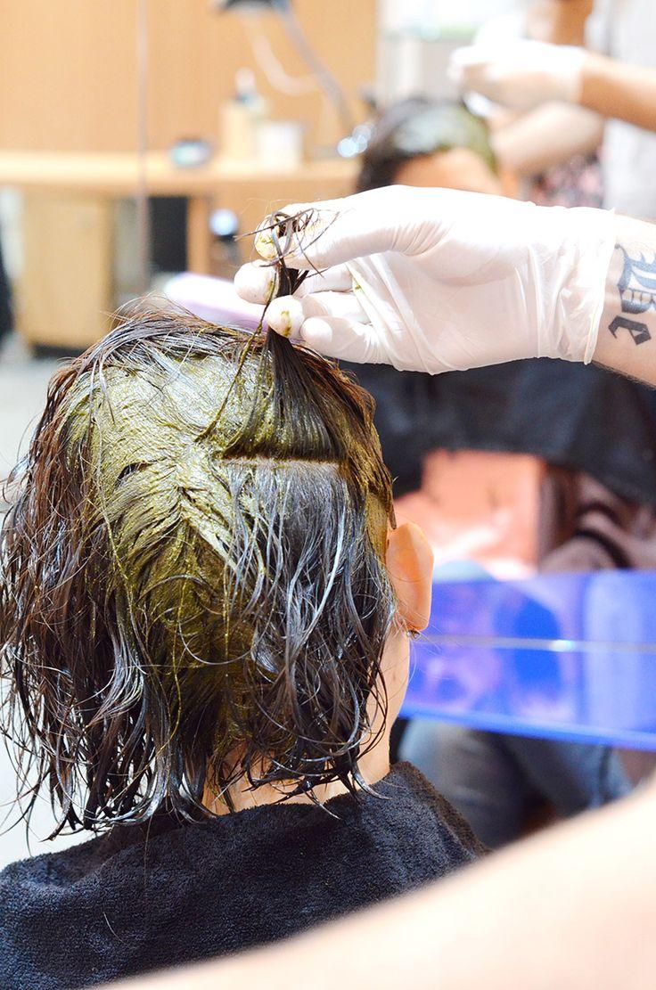 puisque je commence avoir quelques cheveux blancs et que jtais trs curieuse de - Recettes Coloration Naturelle Pour Cheveux Blancs