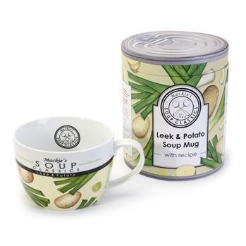 Bia Soup Classics 'Leek and Potato' Porcelain Soup Mug