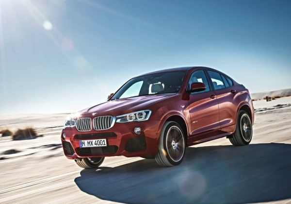 2015 BMW X4 Side Angular Photos 600x420 2015 BMW X4 Full Review, Features with Images