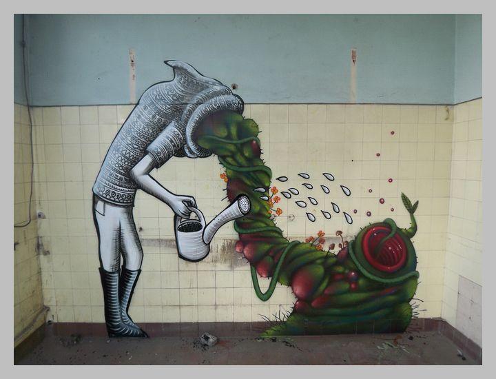 Graffiti by Phlegm