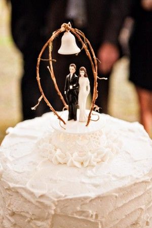 Rustic Wedding Cake Topper This Is Easy To Put Together And Will Have All The