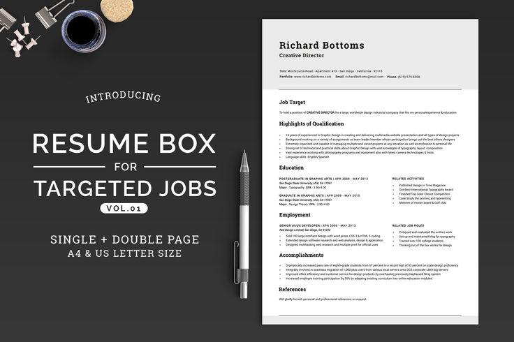 best 25  chronological resume template ideas on pinterest