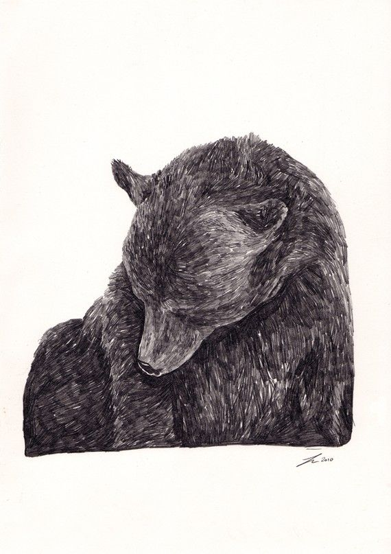 Guilty Bear JamieMilk.etsy