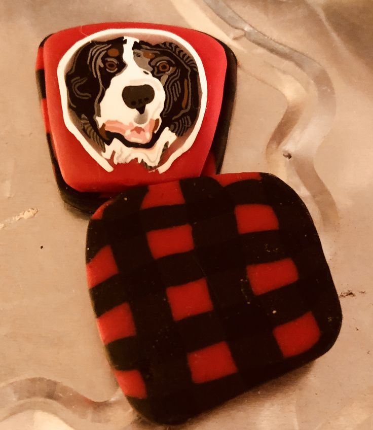 Small Bernese Mountain Dog Pendant Handmade Bernese Mountain Dog Jewelry by Liane Weyers on sale @ lianeweyers.com