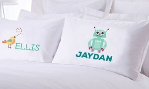 One or Two Personalized Teen or Kids Pillow Cases from Monogram Online (Up to 83% Off)