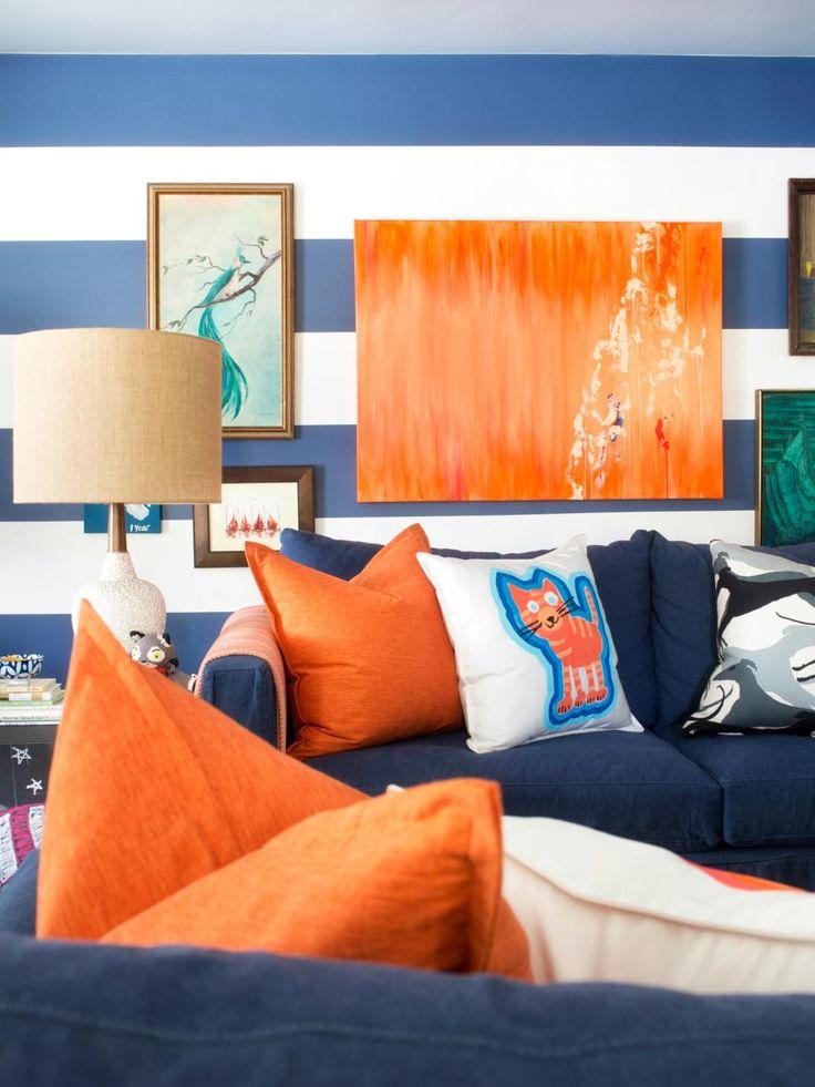 Die besten 25+ Orange wohnzimmerfarbe Ideen auf Pinterest erdige - wohnzimmer orange schwarz