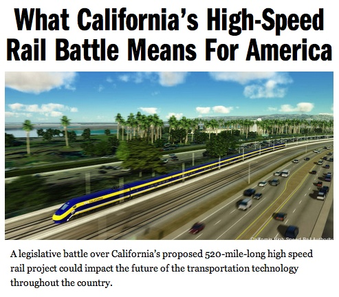 What California's High-Speed Rail Battle Means For America