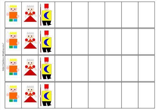 algorithmes le tout petit roi et la très grande princesse
