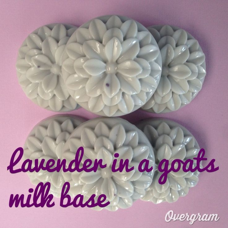 Relaxing lavender in a soothing goats milk base