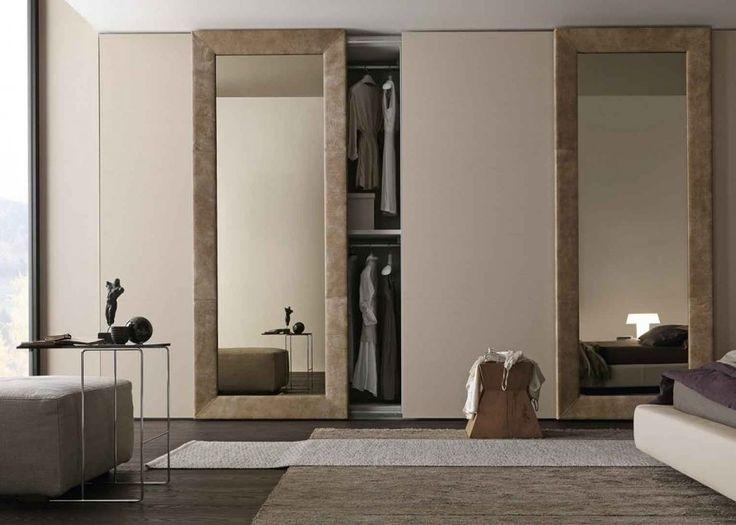 1000 id es sur le th me porte coulissante miroir sur for Astuce pour separer une chambre en 2
