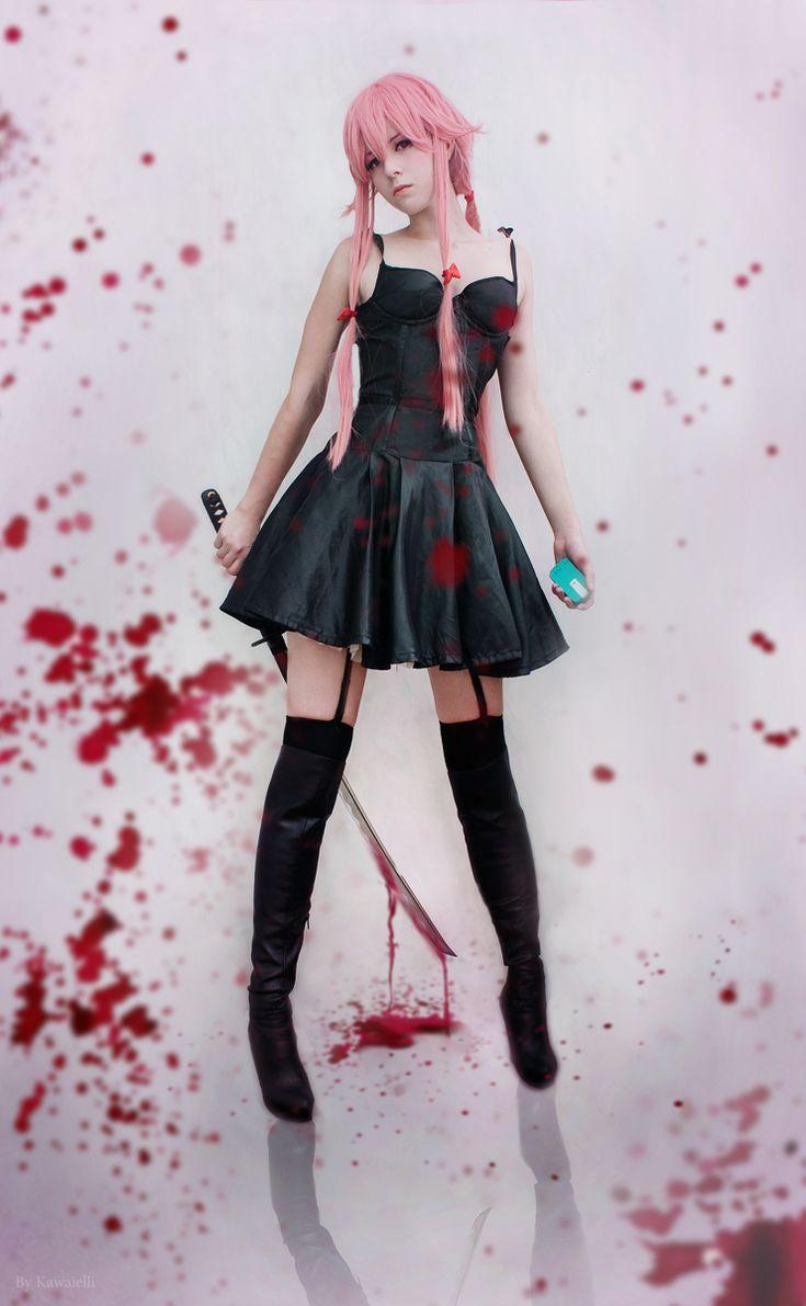 Yuno Gasai cosplay by Kawaielli.deviantart.com on @deviantART