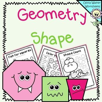 FREE - Geometry - Shape WorksheetsThis is just a nice little freebie to help teach students about shape. All worksheets are designed as no prep printables and can all be printed in black and white. I hope you enjoy this little set as much as my class did!