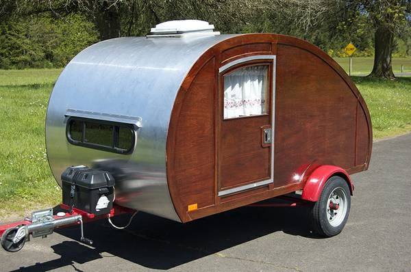 Aluminum Teardrop Trailers : Best images about teardrop campers on pinterest diy